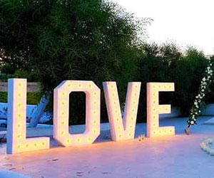 Love letters Santorini