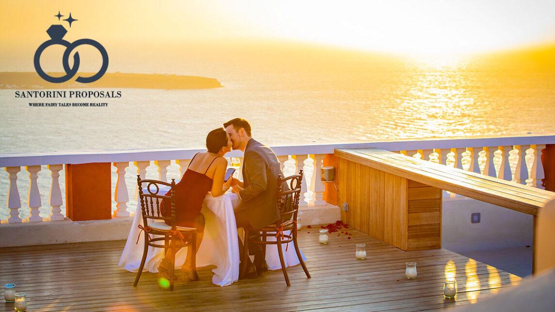 Brett & Michelle's Santorini Proposal