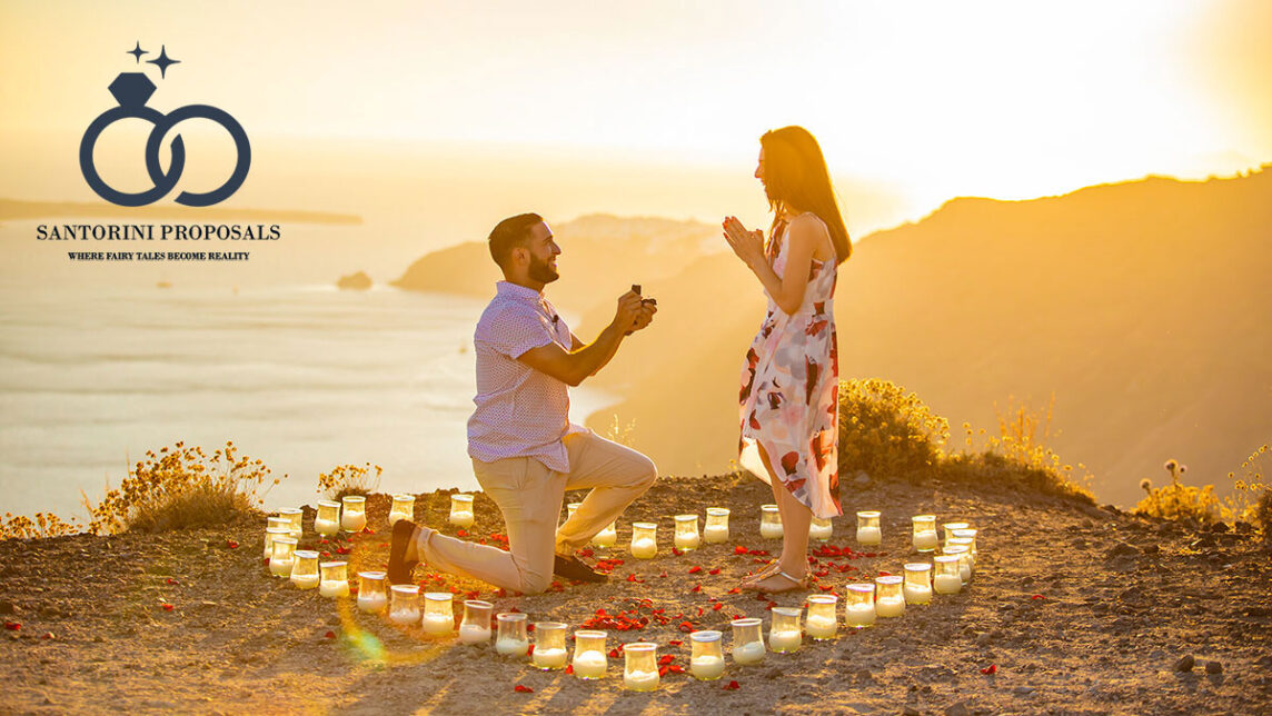 Giuseppe & Francesca's Santorini Proposal